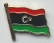 Libya Country Flag Enamel Pin Badge